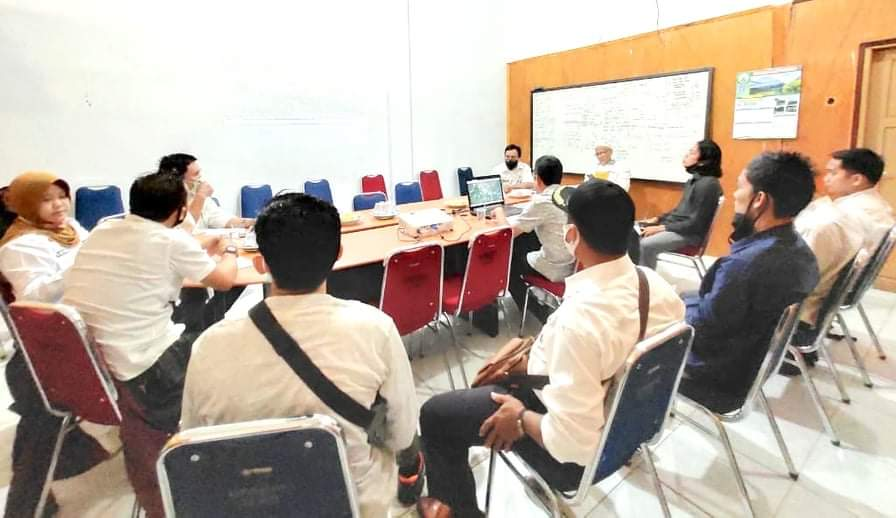 20 Desa di Luwu Utara Ikuti Rakor Air Limbah Setempat (ALS) TA.2020